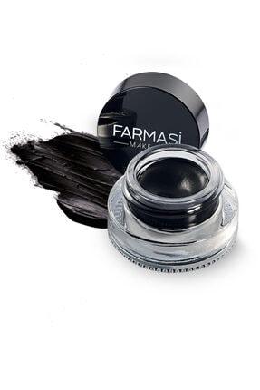 Farmasi Kajal Jel Eyeliner & Eyeliner Fırçası 1