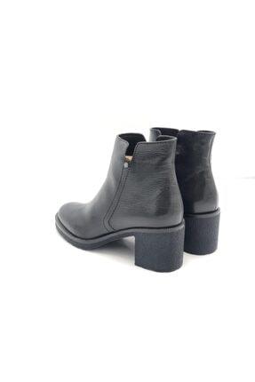 Poletto Kadın Siyah Hakiki Deri Kalın Topuklu Bot Plt18y-644 36 1