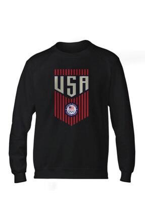 Fanatico Siyah U.s.a. Basic Sweatshirt 0