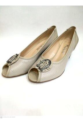 Floor Kadın Bej Ayakkabı 2