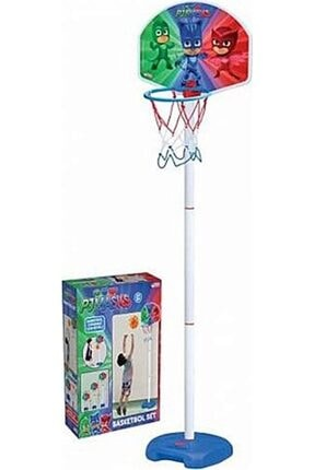 DEDE Pjmask Ayaklı Basketbol Seti 0