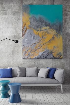 KanvasSepeti Mozaik Desenli Vektörel Soyut Kanvas Canvas Tablo Dekoratif Tablolar 0