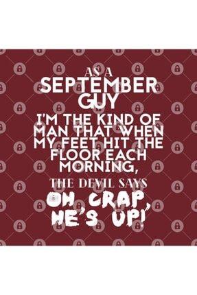 TatFast Cool Funny September Guy Man Devil Crap Birth Month Kupa 2