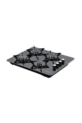 Luxell LX-40TSHDF Siyah Cam Set Üstü - Ankastre Doğalgazlı Ocak 0
