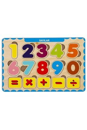 MAKETÇİNİZ 4 Adet Ahşap Bul Tak Eğitici Yapboz Puzzle Seti 2 1