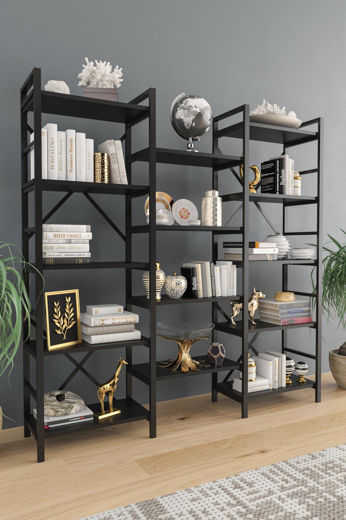 Oertha Kitaplık - Siyah