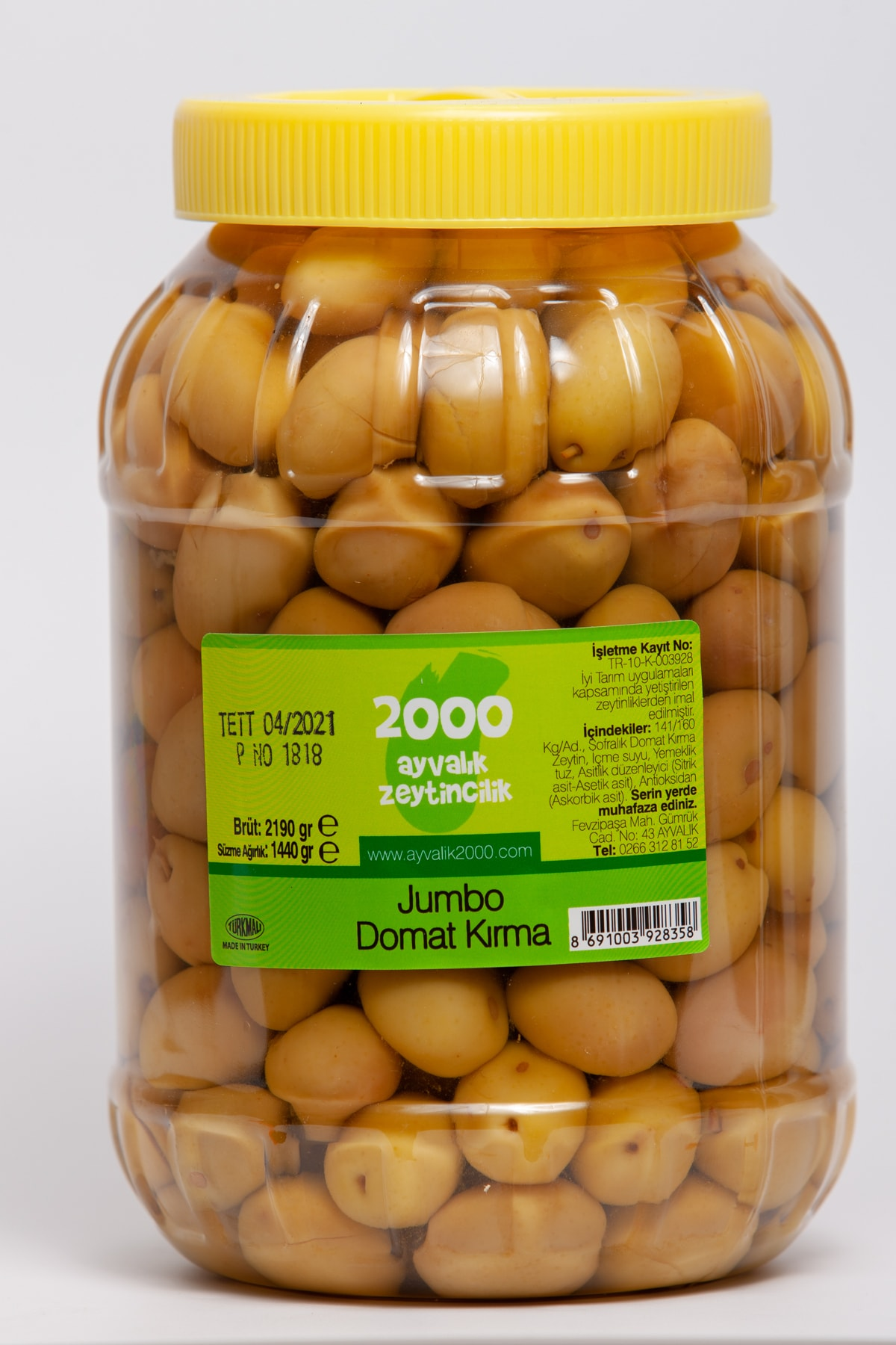 Jumbo Domat Kırma 1440 gr. (4xl-141-160 kg/ad)