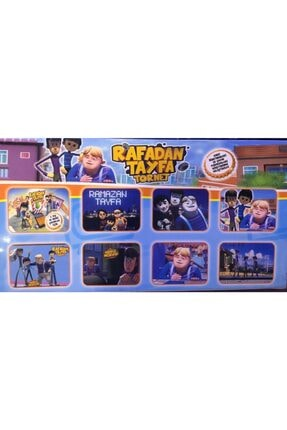 Smarttoys Rafadan Tayfa 5li Figür Oyuncak Set 1