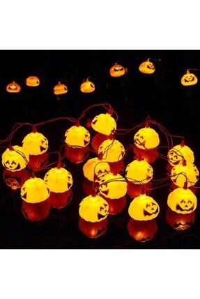 Pi İthalat Balkabağı Şekilli Pilli Cadılar Bayramı Halloween Süsleme 1 0