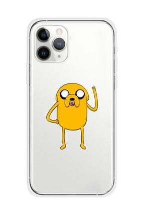 Mupity Jack Tasarımlı Iphone 11 Pro Şeffaf Telefon Kılıfı 0