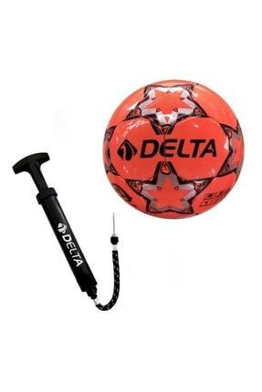 Delta Stapler 5 Numara Dikişli Futbol Topu + Top Pompası 0