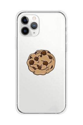 Mupity Kurabiye Tasarımlı Iphone 11 Pro Şeffaf Telefon Kılıfı 0