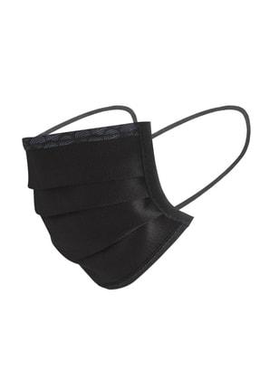 Maisonette Yıkanabilir Pamuklu Yüz Maskesi 5 Li Paket Siyah 3