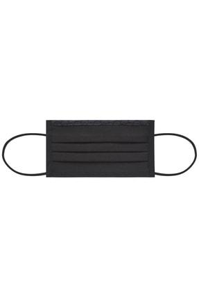 Maisonette Yıkanabilir Pamuklu Yüz Maskesi 5 Li Paket Siyah 4