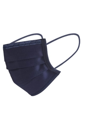 Maisonette Yıkanabilir Pamuklu Yüz Maskesi 5 Li Paket Lacivert 2