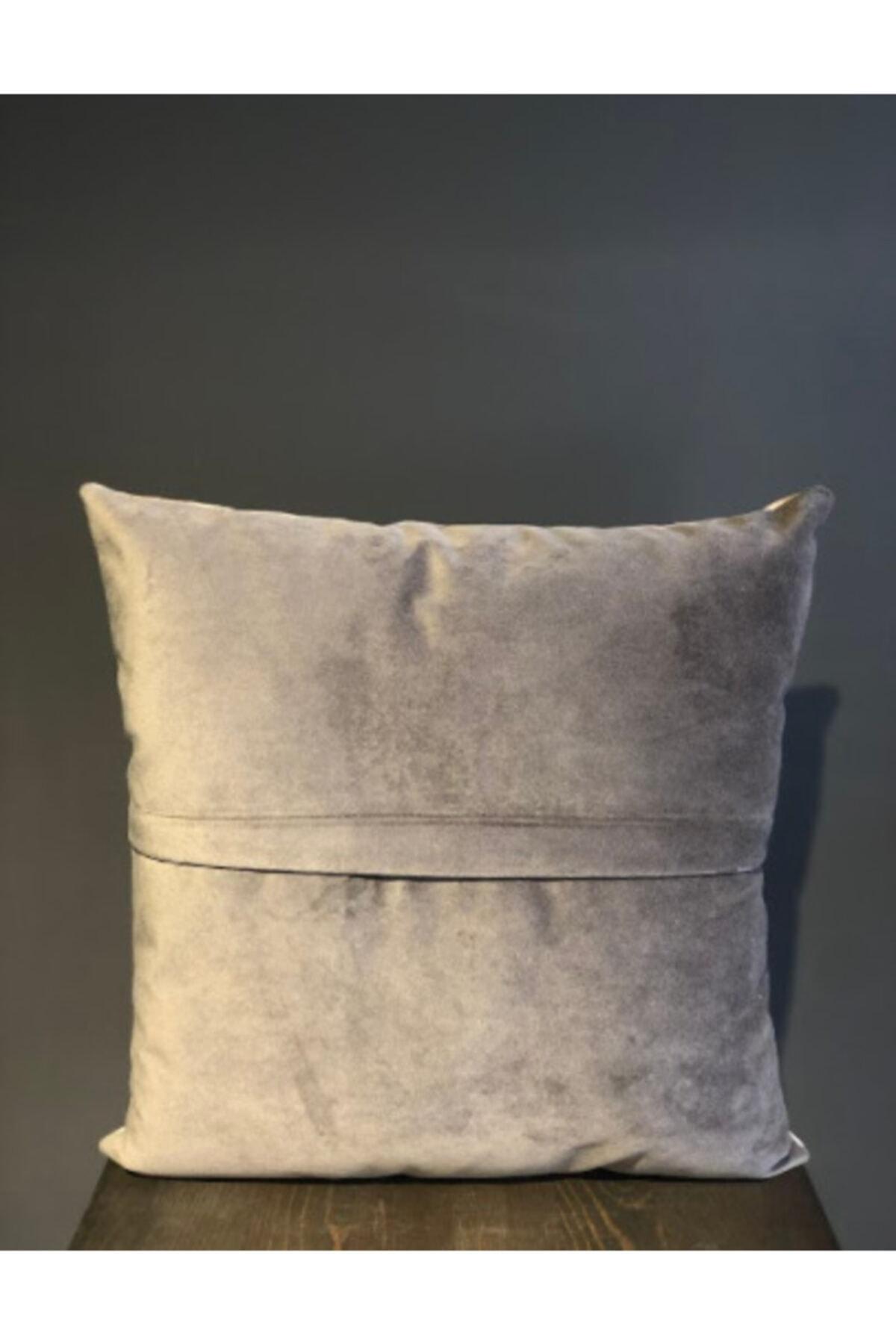 Household Glaskina Kırlent, Boncuk Elyaf Dolgulu Yıkanabilir Kılıflı Lüks Kırlent 40x40cm