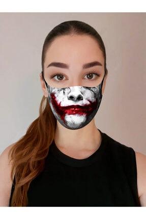 ART FACE Baskılı Yıkanabilir Yüz Maskesi Art-f-01 2