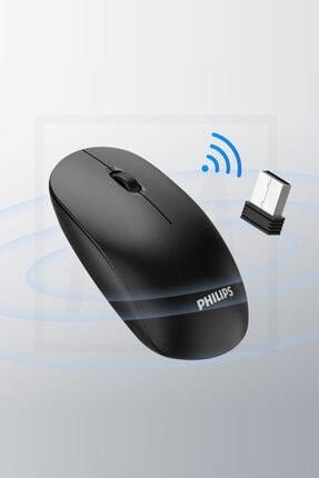 Philips Siyah Kablosuz Optik Mouse 1