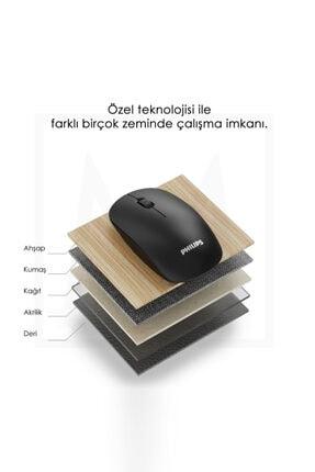 Philips Siyah Kablosuz Optik Mouse 3