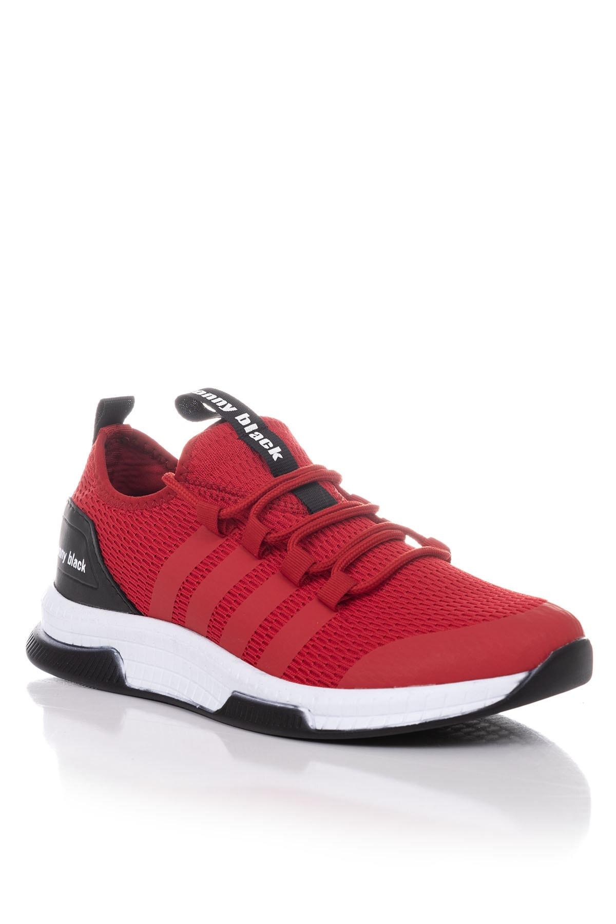 Tonny Black Unısex Kırmızı Spor Ayakkabı Tbqnt 1