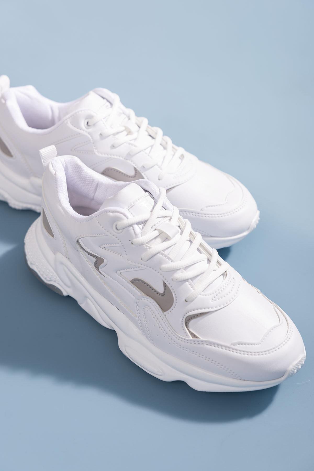 Tonny Black Unısex Beyaz Spor Ayakkabı Tb251 0