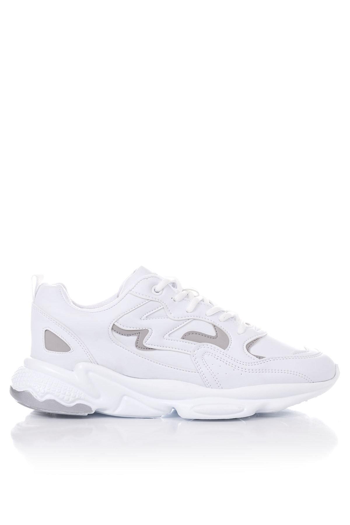 Tonny Black Unısex Beyaz Spor Ayakkabı Tb251 2