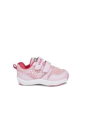 Vicco Kız Çocuk Pembe Spor Ayakkabı 1