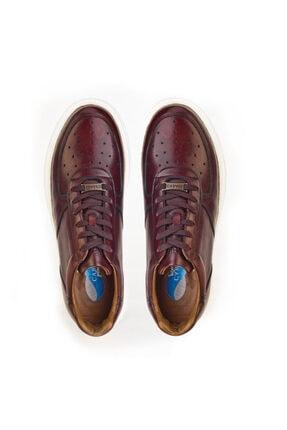Cabani Erkek Kahverengi Sanetta Deri Ayakkabı 3
