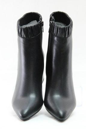 Sterk Ayakkabı Siyah Hakiki Deri Kadın Bot 0