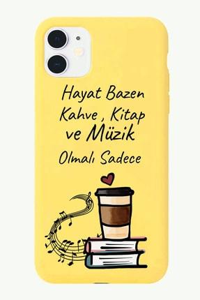 POFHİ Galaxy A7 2017 Kahve Kitap Tasarımlı Sarı Telefon Kılıfı 0