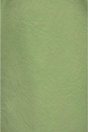 3K Konsept & Esprit Home Nil Yeşili Suni Deri Kumaş 0