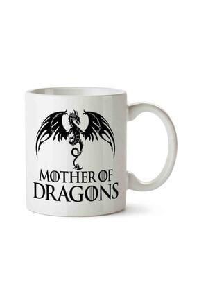 MET DESİGN Mother Of Dragons Game Of Thrones 2 Porselen Kupa Bardak 0