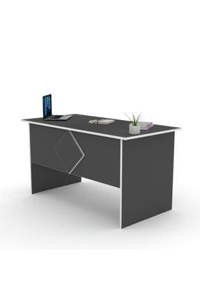 Kenzlife Ofis Masası Masako 075*150*80 Gri Bilgisayar Çalışma Büro 1