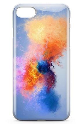 Lopard Apple Iphone Se 2020 Kılıf Color Splash Arka Kapak Koruma Desenli Full Koruyucu 1