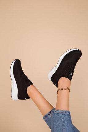 Soho Exclusive Kadın Siyah Sneaker 15226 1