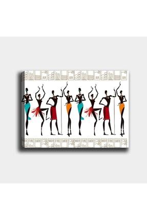 Shop365 Afrikalı Kızlar Kanvas Tablo 45 X 30 cm Sb-2157 0