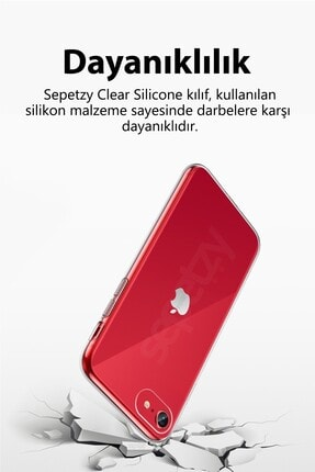 sepetzy Samsung Galaxy S20 Plus Şeffaf Kılıf Clear Silikon Kapak 4