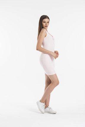 Paris Butik Kadın Pembe Elbise 2
