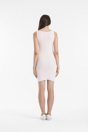 Paris Butik Kadın Pembe Elbise 3