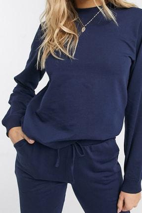 NARE Kadın Lacivert Pamuklu Pijama Takımı 1