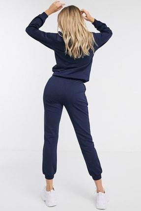 NARE Kadın Lacivert Pamuklu Pijama Takımı 3