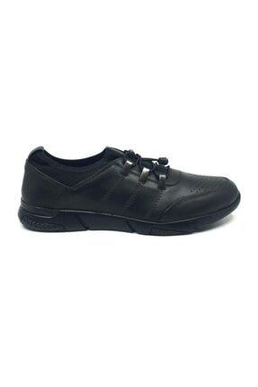 Taşpınar Erkek Siyah Günlük  Bağsız Ayakkabı 1