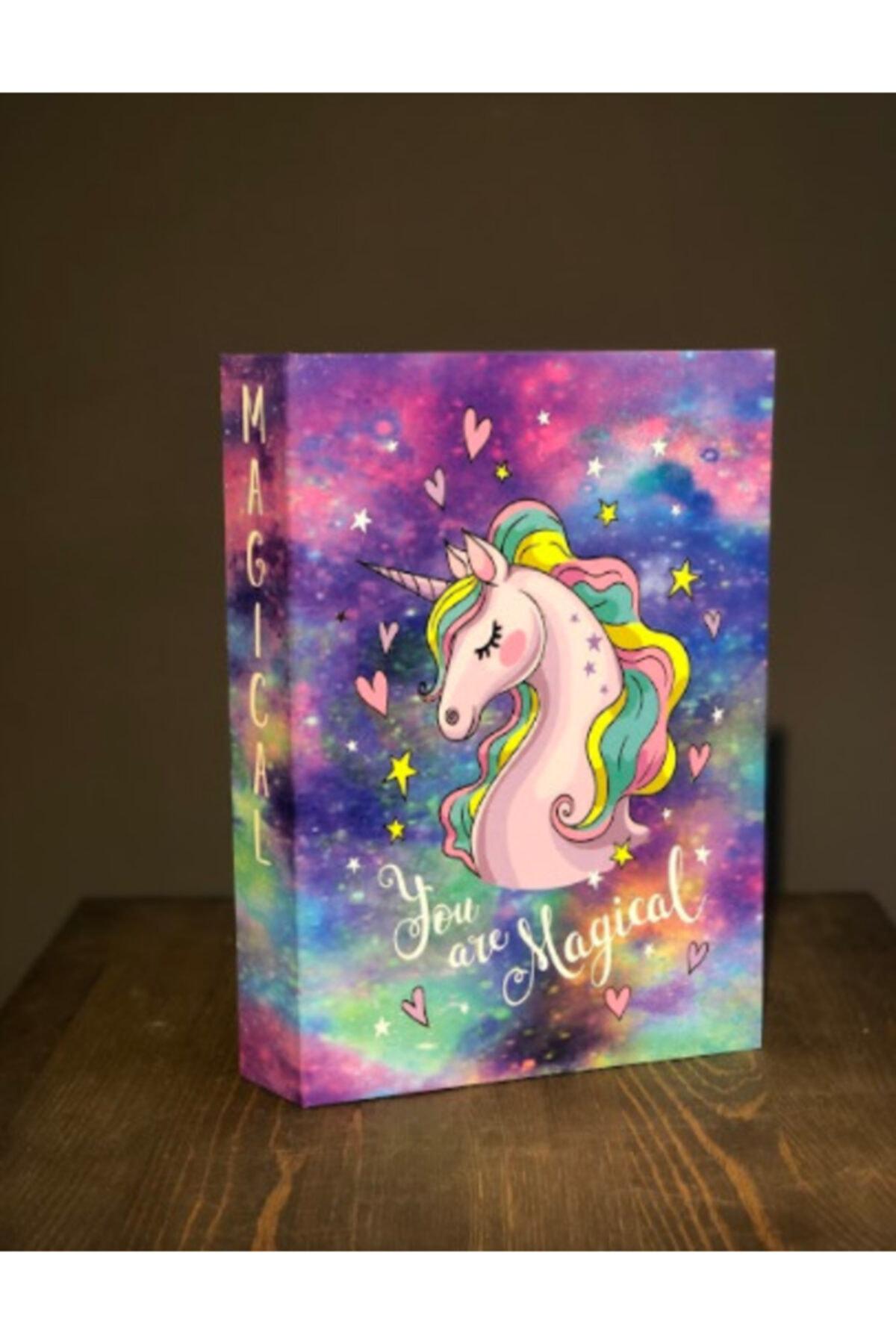 Household Magıcal Dekoratif Kitap Kutu