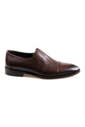 JAMES FRANCO 16564 Kahve Klasik Erkek Deri Ayakkabı 1