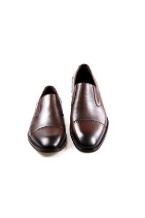 JAMES FRANCO 16564 Kahve Klasik Erkek Deri Ayakkabı 4