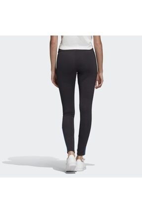 adidas Kadın Siyah  Adicolor 3d Trefoil Leggings Tayt 2