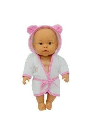 Sedef Oyuncak Toyshome Pembe Bebelou Banyo Zamanı Bebek 0