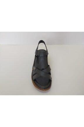 İpekçe Home Kadın Siyah Ortapedik Sandalet 2