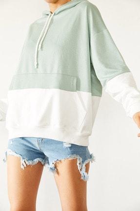 Xena Parçalı Sweatshirt 0YZK8-10531-58 0