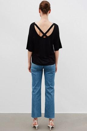 İpekyol Kadın Siyah Basic T-Shirt 3